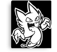 Haunter - Black and White Canvas Print
