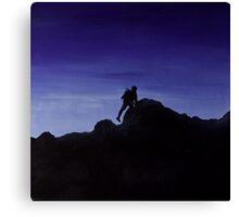 Mountain man. Canvas Print