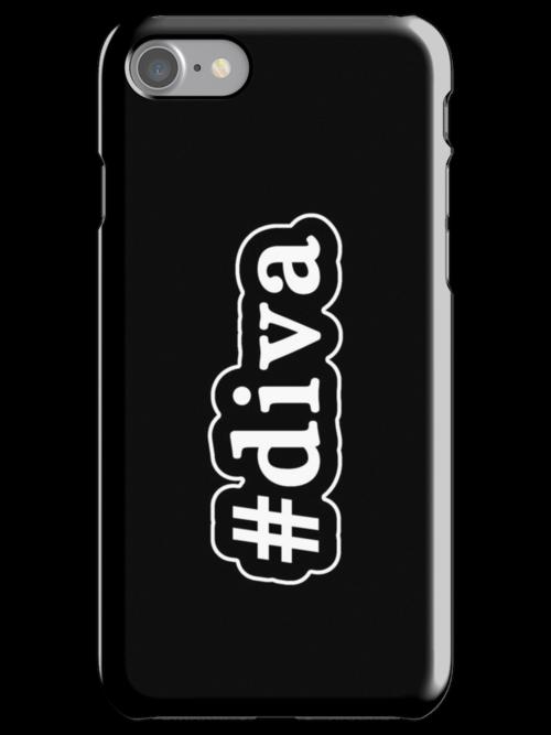 Diva - Hashtag - Black & White by graphix