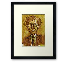 Woody Allen Framed Print