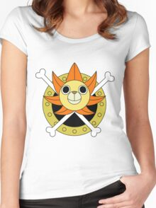 sunny sun Women's Fitted Scoop T-Shirt