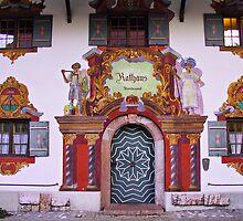 Rathaus Ruhpolding Germany by Daidalos