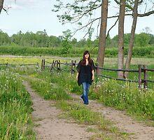 Walk near by dandelion meadow. by fotorobs