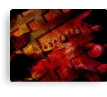 Digital Abstract 11 Canvas Print