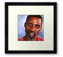 A Gentle Man, Themba Framed Print