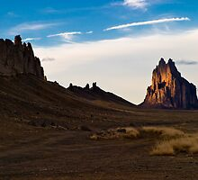 Tse Bit' a'i - Shiprock Pinnacle by Ken  Hurst