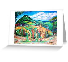 Colorful Europe  Greeting Card