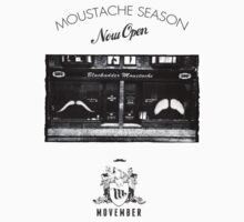 "Movember: Blackadder ""The Moustache Shop"" by Brian Edwards"