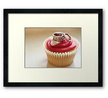 I Do (Love Cupcakes) Framed Print
