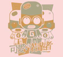 Gadget Mascot Stencil One Piece - Long Sleeve