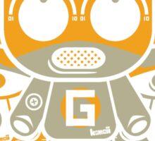 Gadget Mascot Stencil Sticker