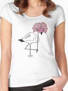 Over The Top? Women's Fitted Scoop T-Shirt