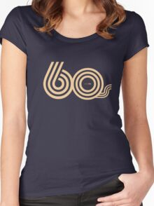 Born in the 60's Women's Fitted Scoop T-Shirt