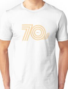 Born in the 70's Unisex T-Shirt
