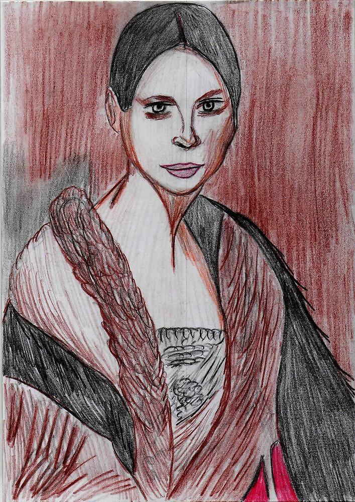 Portrait of Fanny Elsster by Kittycat10