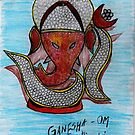 LORD GANESHA - OM  by Kittycat10