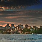 Sydney sunset by Linda Sparks