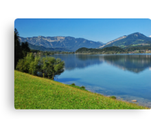 Wolfgangsee Canvas Print