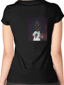 Back Stabbing Banshee Women's Fitted Scoop T-Shirt