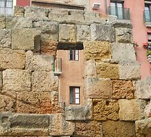 Ancient construction in Tarragona by Osveyre