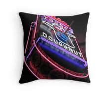 voodoo doughnut Throw Pillow