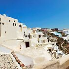 Oia Panorama by Paul Thompson Photography