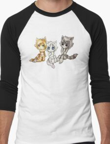 Jellicle girls chibis Men's Baseball ¾ T-Shirt
