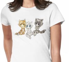Jellicle girls chibis Womens Fitted T-Shirt
