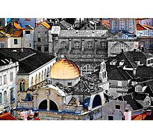 The Essence of Croatia - The Rooftops of Dubrovnik Photographic Print