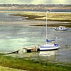 Mooring at Hurst Spit by dmacwill