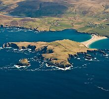 St Ninians Isle by Terry Mooney