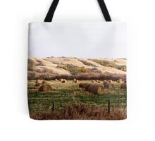 Valley Of The Bales Tote Bag