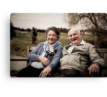 Happy Couple 3 Canvas Print