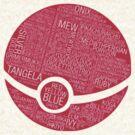 Typography Pokeball by Miltossavvides
