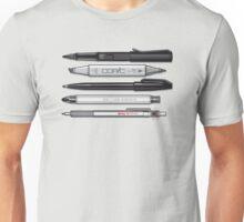 Pro Graphic Design Pens (Grey) Unisex T-Shirt