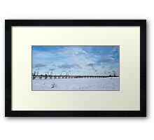 Bridge to Nowhere, Northern Ontario Framed Print