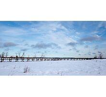 Bridge to Nowhere, Northern Ontario Photographic Print