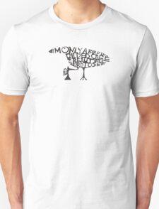 Bird Typography T-Shirt