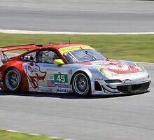 ALMS 2011 LRP Porsche 911 997 GT3 RSR Flying Lizard by gtexpert
