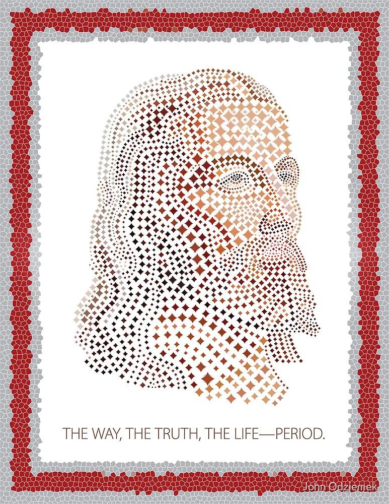 Jesus Mosaic by JohnOdz