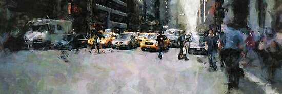 NEW YORK STREET by DARREL NEAVES