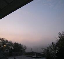 10/31/11- Strange Halloween Morning Mist by dge357