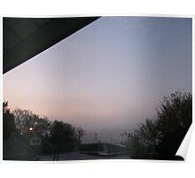 10/31/11- Strange Halloween Morning Mist Poster