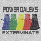 Power Daleks by GatewayLesbian