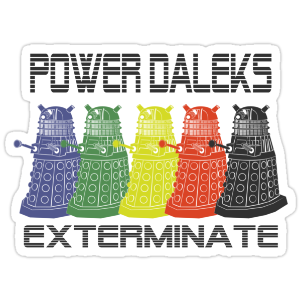 Power Daleks by GatewayLesbian