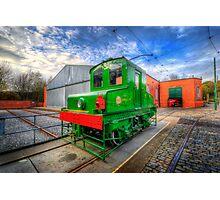 Blackpool Green Machine Photographic Print