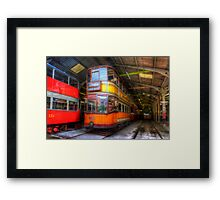 Tram 812 Glasgow Corporation Framed Print