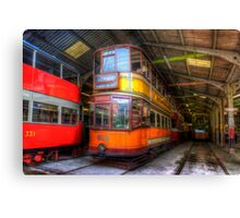 Tram 812 Glasgow Corporation Canvas Print
