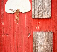 """Farm League"" - basketball hoop on farm by ArtThatSmiles"