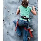 Girl Climbing by doorfrontphotos
